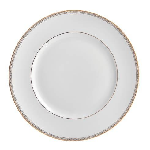 Waterford  Lismore Diamond Gold Dinner Plate, 10.75
