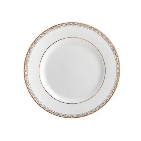 Waterford  Lismore Diamond Gold Bread and Butter Plate, 6