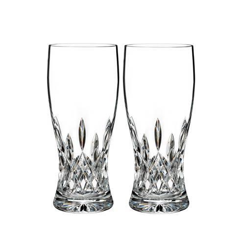 Waterford  Lismore Connoisseur Pint Glass, Pair $155.00