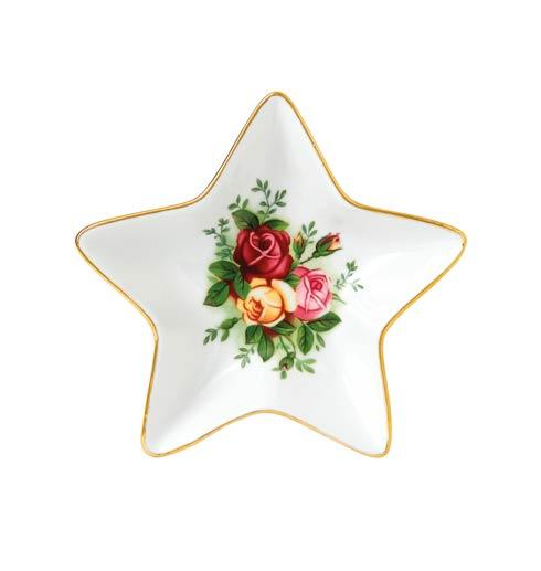 """$29.00 Old Country Roses Star Tray 6.1"""""""