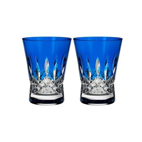 Waterford  Lismore Pops DOF Pair, Cobalt $220.00