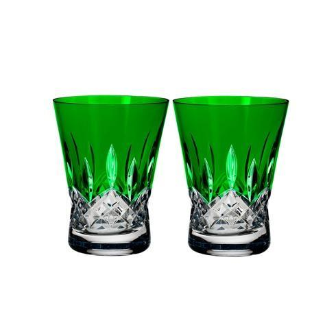 Waterford  Lismore Pops DOF Pair, Emerald $175.00