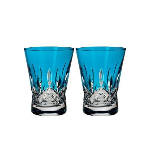 Waterford  Lismore Pops Lismore Pops DOF Set/2 Aqua $175.00