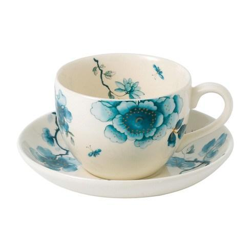 Teacup \u0026 Saucer Set ...  sc 1 st  Live With It by Lora Hobbs & Wedgwood Blue Bird Casual Dinnerware products