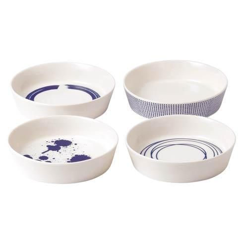 Royal Doulton  Pacific Mixed Patterns Round Serving Dishes Set/4 Mixed Patterns $72.00