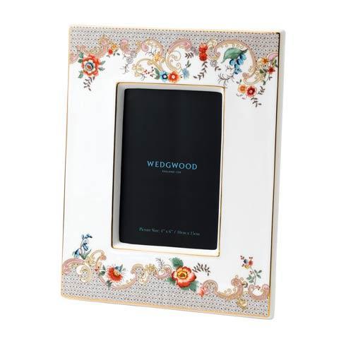 """$95.00 Frame 4x6"""" Rococo Flowers"""