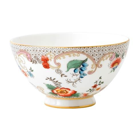 "$39.95 Bowl 4.3"" Rococo Flowers"