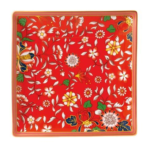 "$45.00 Tray 5.7"" Crimson Jewel"