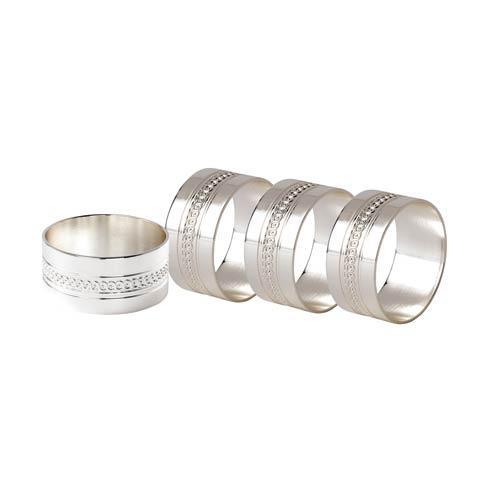 $65.00 Napkin Ring Set/4