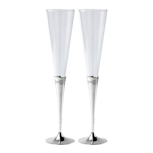 Wedgwood  Simply Wish Toasting Flute Pair $75.00