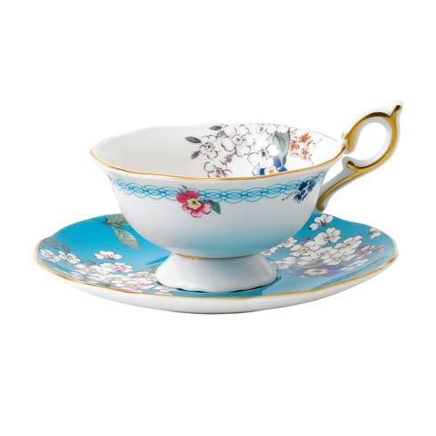 Teacup & Saucer Set Apple Blossom image