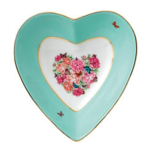 "$24.99 Blessings Heart Tray 5"""