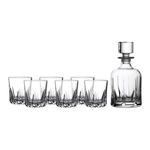 $109.99 Mode Whiskey Decanter & Tumbler Set/6