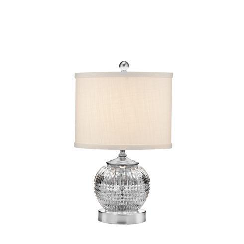 "$325.00 Lismore Diamond Mini Accent Lamp 15"""