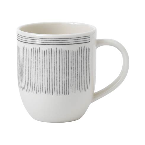 $8.00 Lines Mug 14 Oz