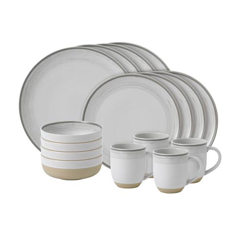 $118.00 16 - Piece Set White