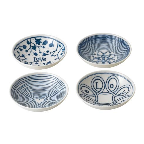 "$30.00 Bowl 5.5"" Set of 4 Mixed"