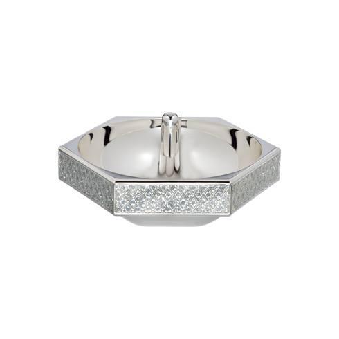 Lismore Diamond Ring Holder Silver