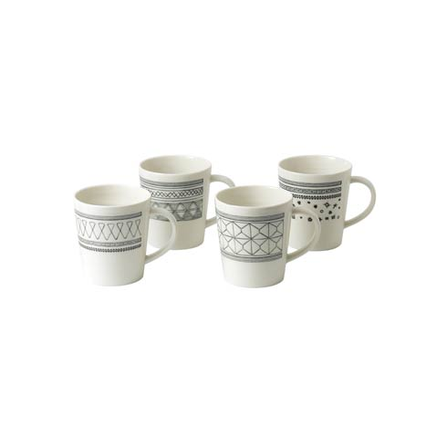 $41.00 Mug 16.5 Oz Set of 4 Mixed