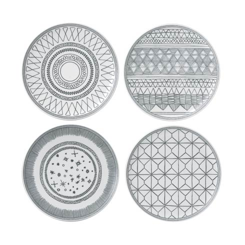 "$35.00 Plate 8"" Set of 4 Mixed"