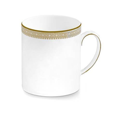 Vera Wang  Vera Lace Gold Mug $28.00