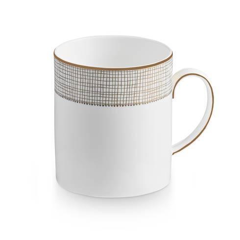 Vera Wang  Gilded Weave Mug $25.00