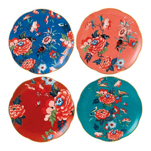"""$195.00 Plate 8.3"""" Set of 4"""