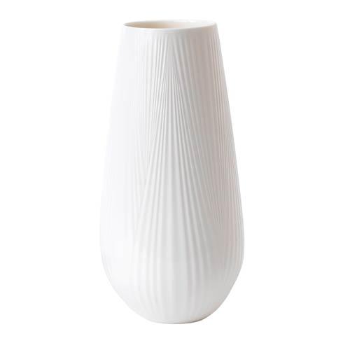 """Wedgwood  White Folia Vase Tall 11.8"""" $95.00"""