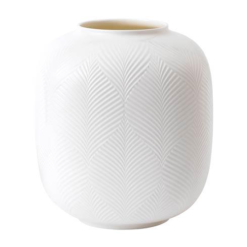 """Wedgwood  White Folia Vase Rounded 8.3"""" $90.00"""