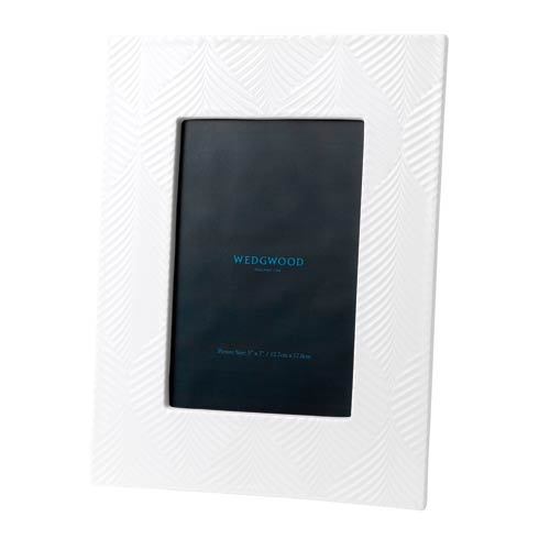 "Wedgwood  White Folia Frame 5x7"" $85.00"