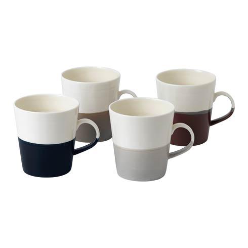 $57.50 Mug Grande 19 OZ Set of 4 Mixed Colors