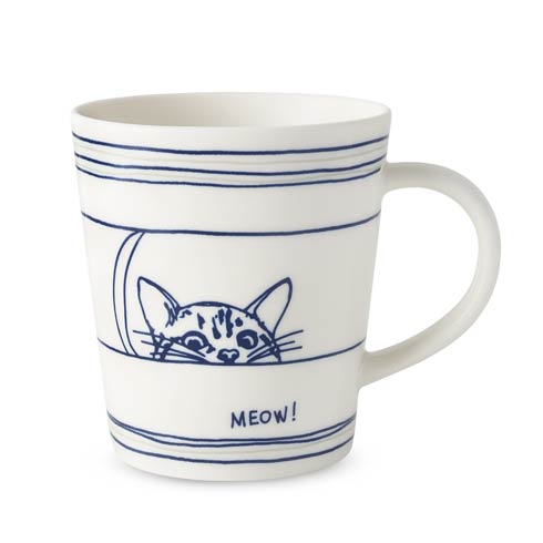 $10.00 Cat Mug 16.5 Oz
