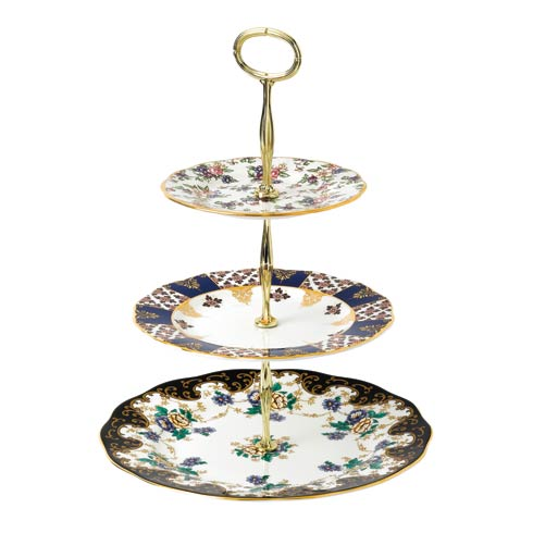 $115.00 Cake Stand Three-Tier (English Chintz, Regency & Duchess)