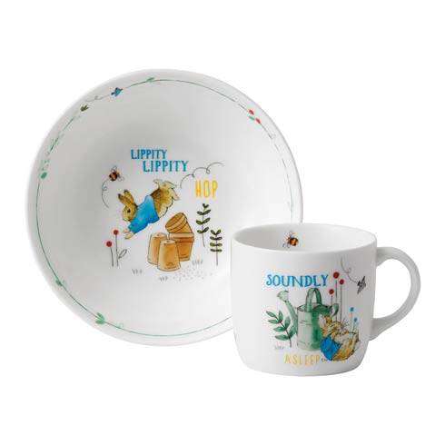 $45.00 Boy's 2 - Piece Set (Bowl & Mug)