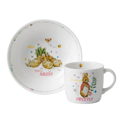 $34.95 Girl's 2 - Piece Set (Bowl & Mug)
