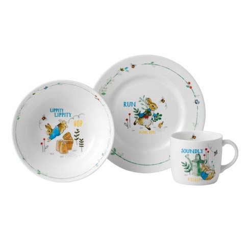 $49.95 Boy's 3 - Piece Set (Plate, Bowl & Mug)