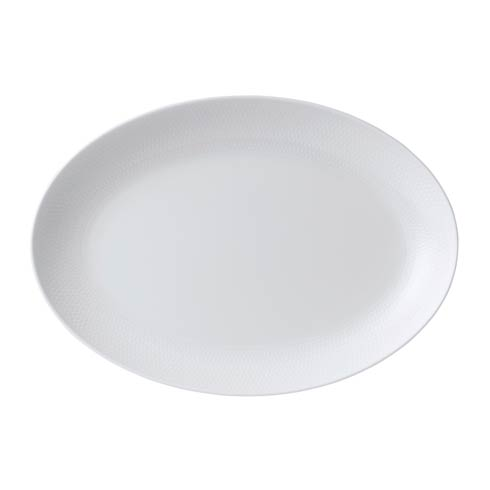 "Wedgwood  Gio Oval Platter 11.8"" $105.00"