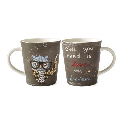 $10.00 Owl Mug 16.5 Oz