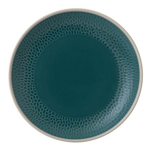 """$9.99 Dinner Plate 11"""" Hammer Blue"""