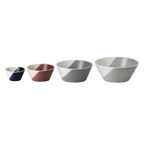 "$38.00 Nesting Bowl Set of 4 (2.4"", 3.5"", 4.5"", 5.3"")"
