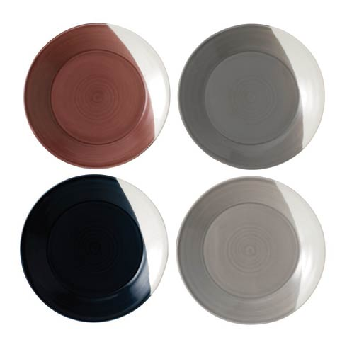 """$37.60 Plate 9.3"""" Set of 4"""