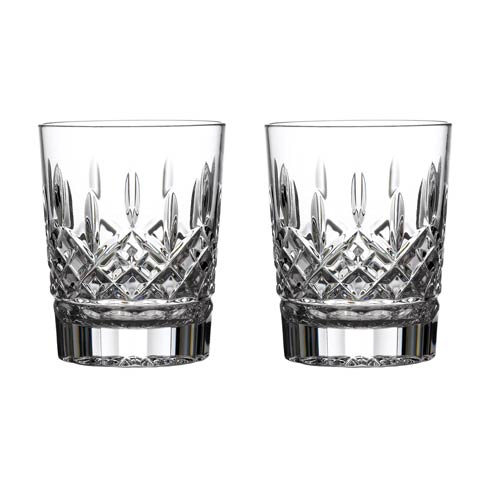 Waterford  Lismore Double Old Fashioned 12 OZ Set of 2 $160.00