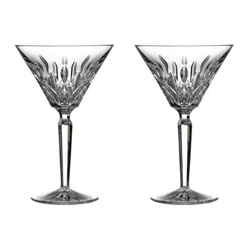 Waterford  Lismore Martini 4 OZ Set of 2 $165.00