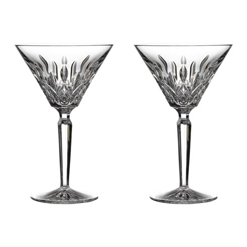 Waterford  Lismore Martini 4 OZ Set of 2 $165.00