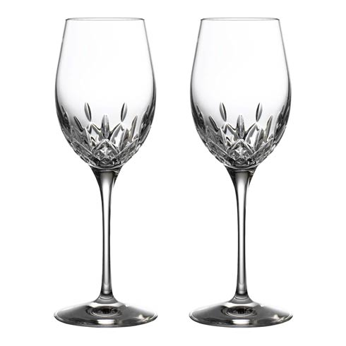 Waterford  Lismore Essence White Wine 14 OZ Set of 2 $160.00