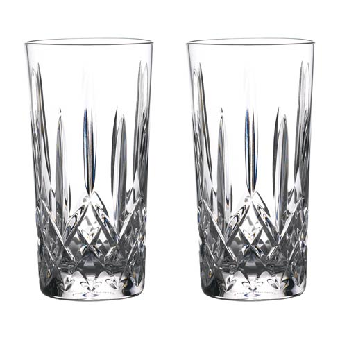 Waterford  Gin Journeys Lismore Hiball 16 OZ Set of 2 $135.00