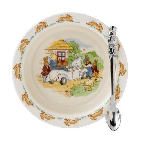 $47.00 Classic Nurseryware 2-Piece Set (Bowl, Spoon)