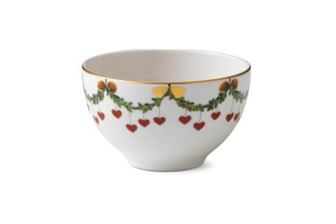 Royal Copenhagen  Star Fluted Christmas Chocolate Bowl $95.00