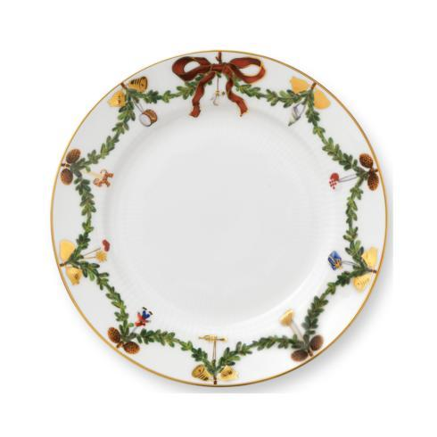 Royal Copenhagen  Star Fluted Christmas Dessert Plate $55.00