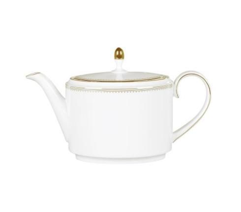Vera Wang  Golden Grosgrain Teapot 2 pint $215.00